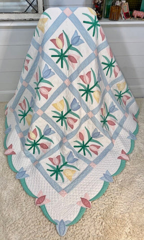 Tulip Applique Quilt