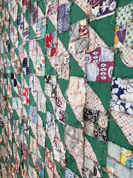 Jacob's Ladder Quilt TOP