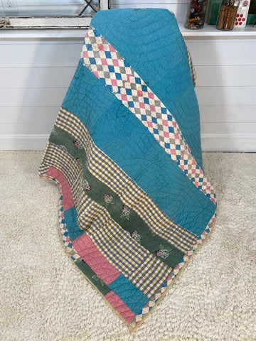 Blue Diamond Quilt