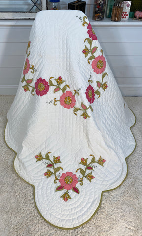 Flower Applique Quilt
