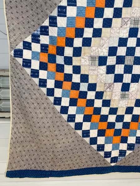 Center Diamond Mosaic Quilt
