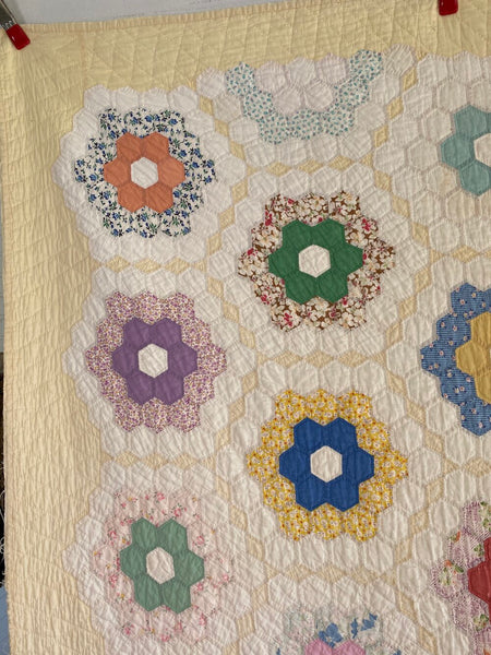 Yellow Flower Garden Quilt