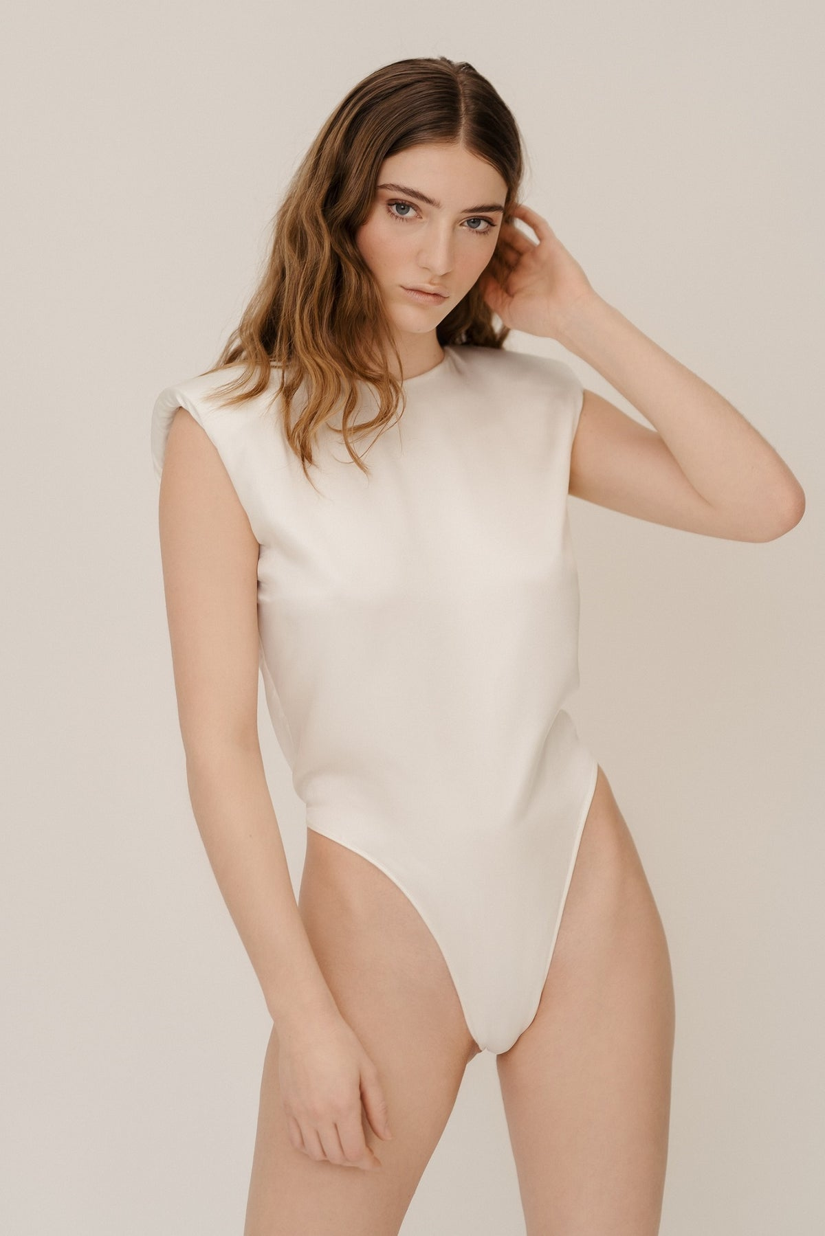 AMY SILK BODY IVORY