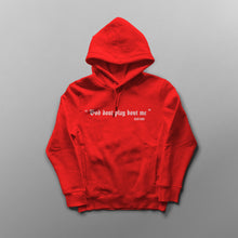 "Load image into Gallery viewer, ""God don't play bout me "" hooded sweat shirt"