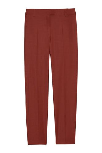 Tapered tropical wool pants
