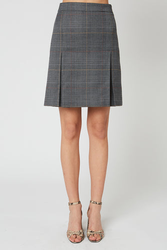 Prince of Wales checked miniskirt