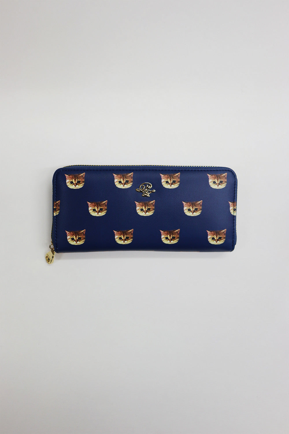 Allover printed wallet