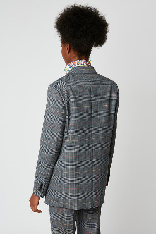 Prince of Wales Straight Fit Jacket