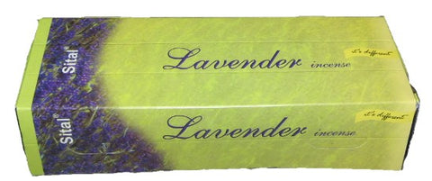 Sital   Lavander  108 Sticks Exagonal Box