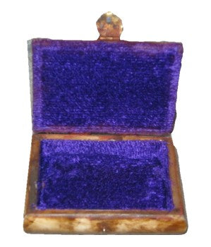 "Jewelry Bone Box, 4"" Wide, 3"" Depth, 2"""