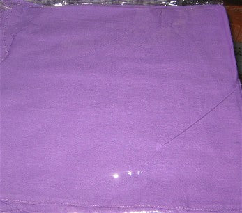 Cotton Purple Shawl -Panuelo de Algodon Violeta