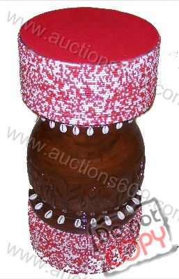 Chango Pilon with beads-Pilon de Chango