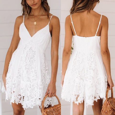 Vestido Blanco Mujer - White Dress fashion