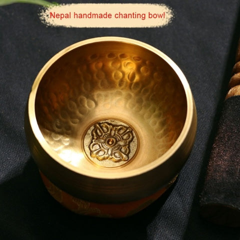 Handmade Nepal Tibetan Singing Bowl Set Resonance healing meditation