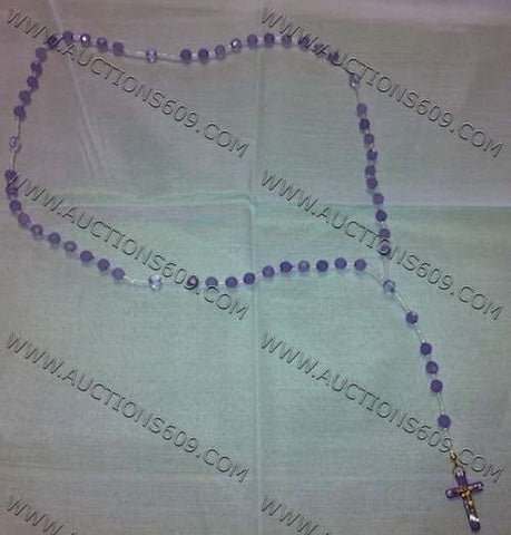 Purple religion  Rosary