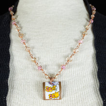 Load image into Gallery viewer, Bunny Pencil Box Necklace