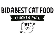 Load image into Gallery viewer, BidaBest Healthy Chicken Pate Wet Cat Food Logo