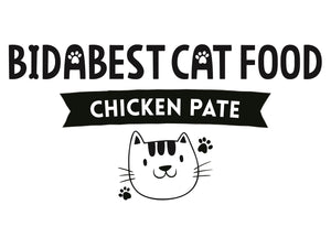 BidaBest Healthy Chicken Pate Wet Cat Food Logo