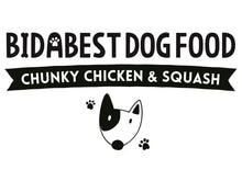 Load image into Gallery viewer, BidaBest Healthy Chunky Chicken & Squash Dog Food Logo