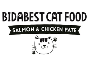 Healthy Salmon & Chicken Pate Wet Cat Food Logo