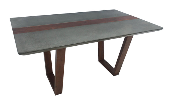 Concrete and Wood Table