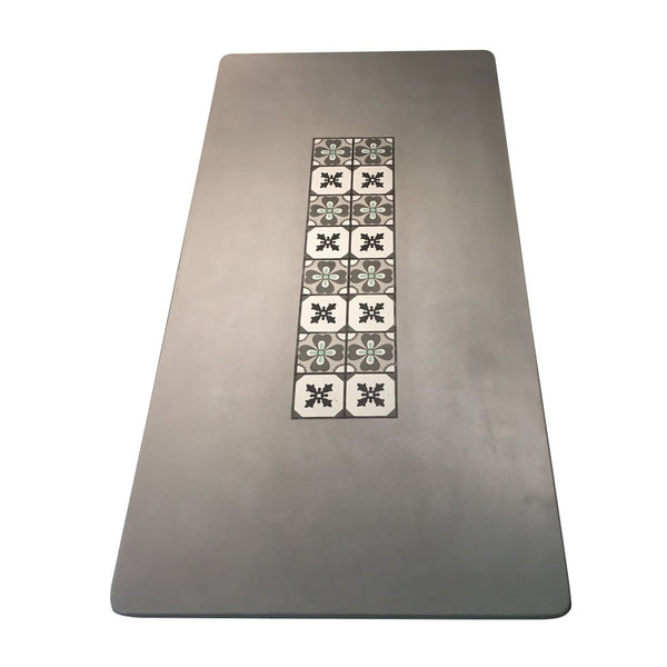 Concrete Table with Tiles