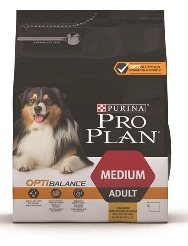 Pro Plan Dog Adult Medium Kip/Rijst - Dog-essentials.nl
