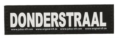 Julius K9 Labels Voor Power-Harnas/Tuig Donderstraal - Dog-essentials.nl