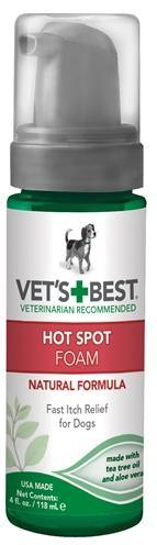 Vets Best Hot Spot Spray Foam 150 ML - Dog-essentials.nl