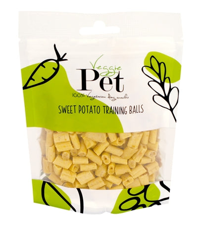 Veggie Pet Sweet Potato Training Balls 100 GR
