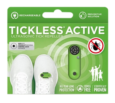 Tickless Active Groen