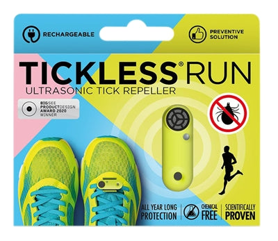 Tickless Run Neon Geel
