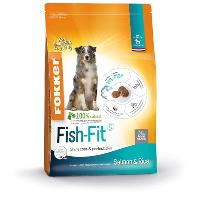 Fokker Fish-Fit Salmon And Rice 2,5 KG