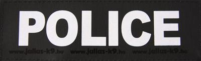 Julius K9 Labels Voor Power-Harnas/Tuig Police SMALL