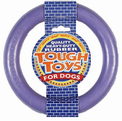Happy Pet Tough Toy Rubber Ring 15X15X2,5 CM - Dog-essentials.nl