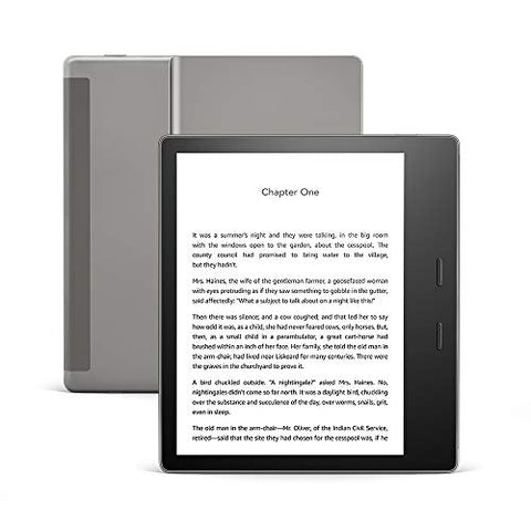 Kindle Oasis - Now with adjustable warm light - 8 GB
