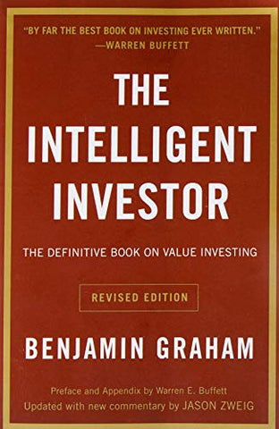 Image of The Intelligent Investor: The Definitive Book on Value Investing.