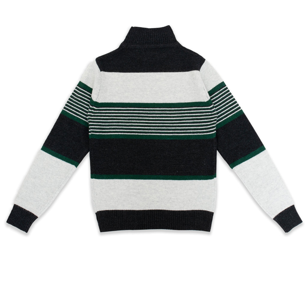 Knitting Pattern Half Turtleneck Sweater - HopeKids