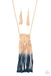 Look At MACRAME Now - Blue