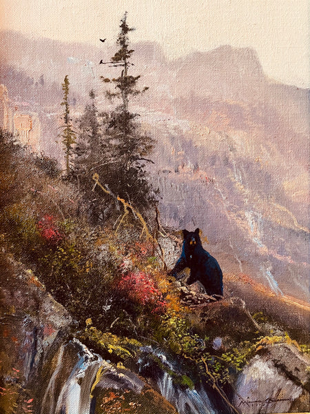 Autumn Black Bear