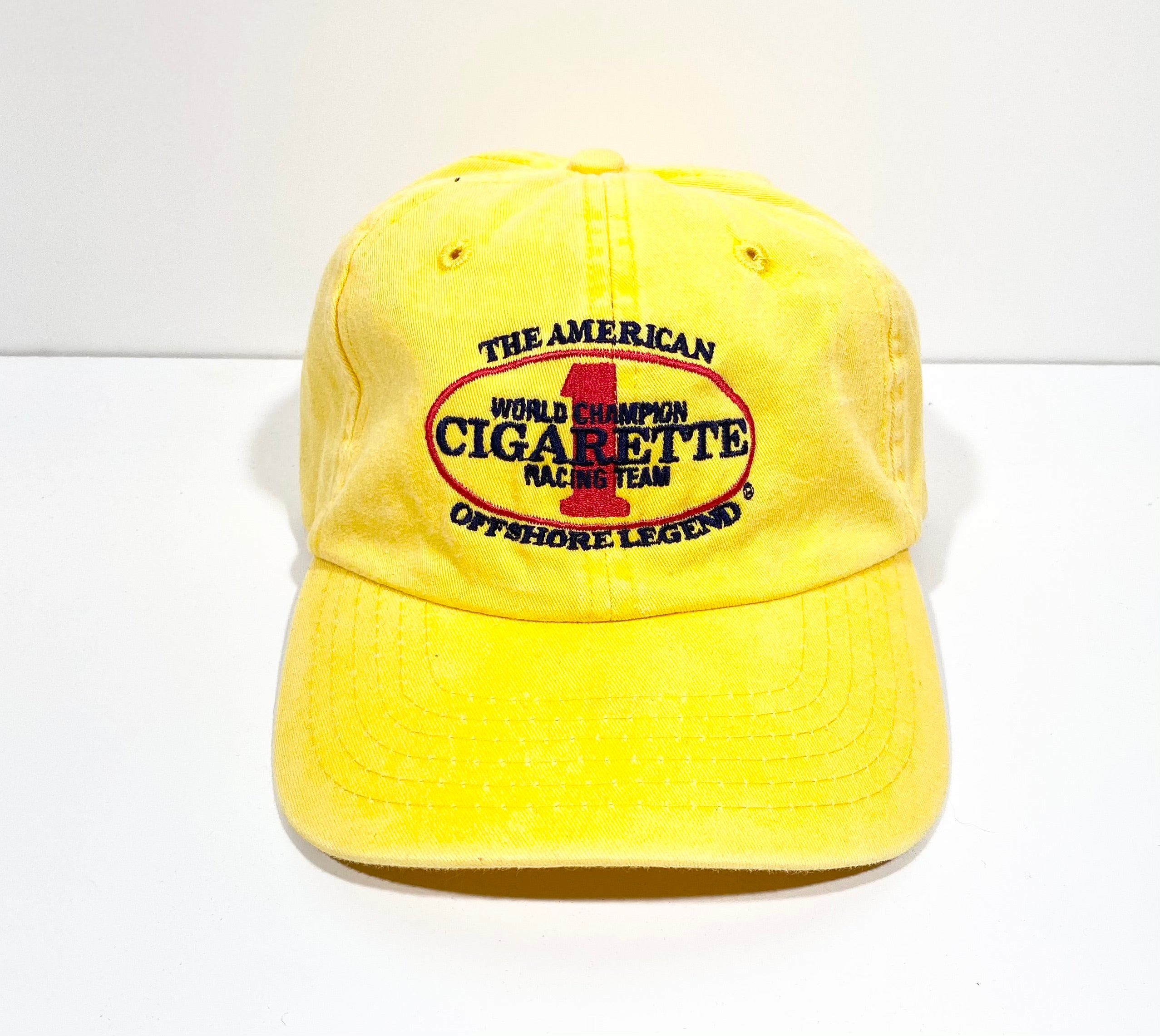 Cigarette Racing Team Embroidered Adjustable Hat
