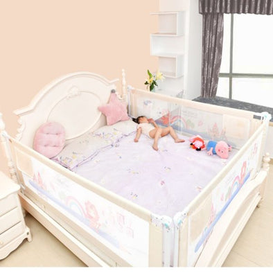 Baby Bed Fence Home Kids Playpen Safety Gate Products Child Care Barri Oberify