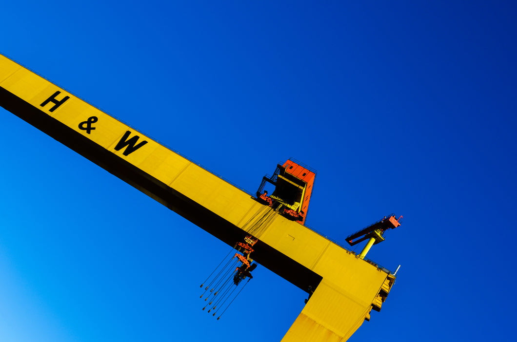 Harland & Wolff crane print - various sizes