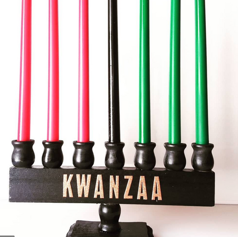 DIY Kwanzaa Candle Holders - CANDLESLOVERS.COM