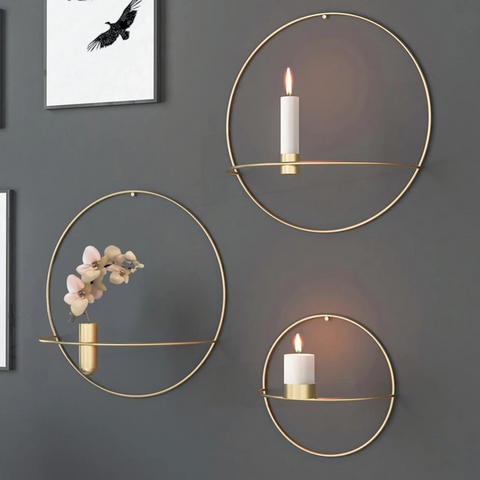 Lilli - wall candle holder
