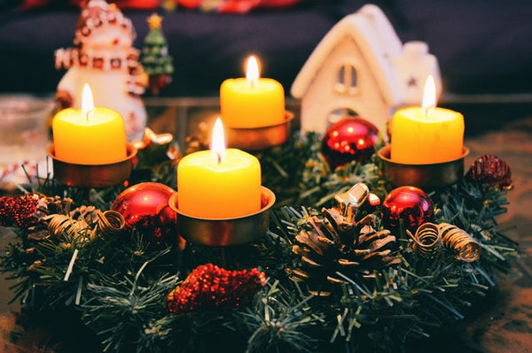 Advent Wreath Candle Holder