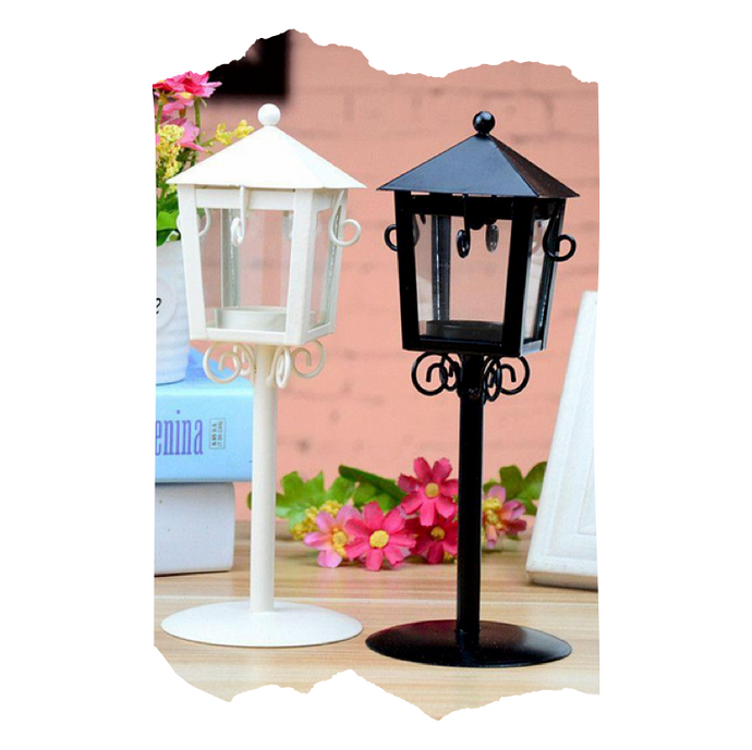 Leoni - Glass Candle Holder