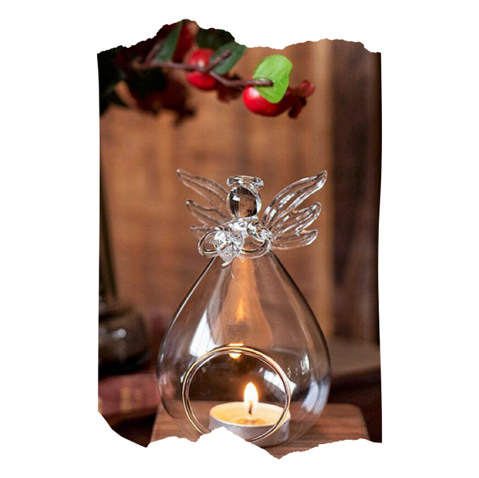 Riley - Glass Candle Holder