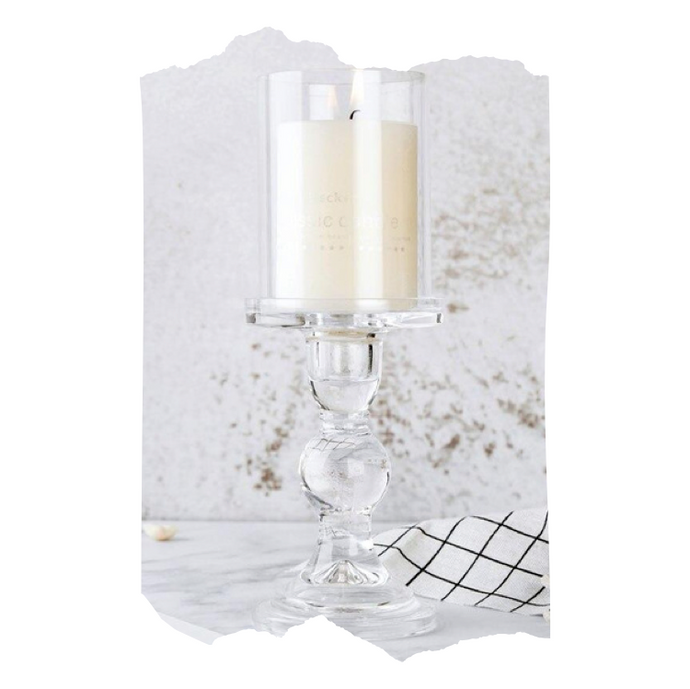 Sanya - Glass Candle Holder