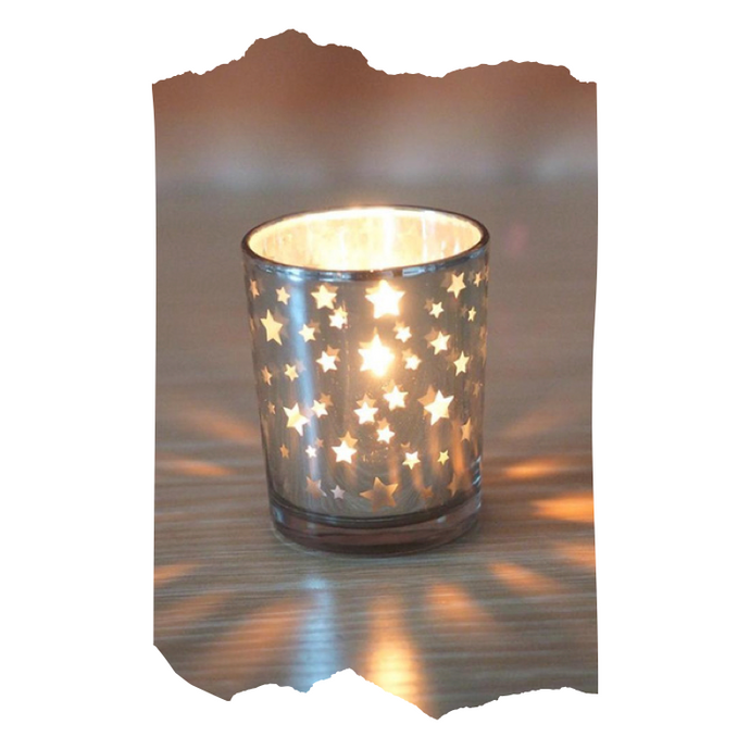 Savannah - Glass Candle Holder